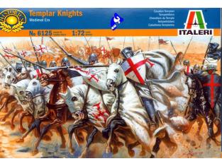 ITALERI figurine 6125 Templiers 1/72