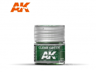 Ak interactive Real Colors RC505 Vert translucide 10ml