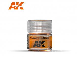 Ak interactive Real Colors RC506 Orange translucide 10ml