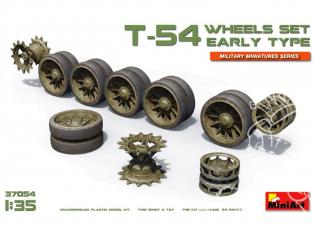 Mini Art maquette accessoires militaire 37054 Set de roues pour char T-54 debut de production 1/35