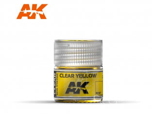 Ak interactive Real Colors RC507 Jaune translucide 10ml