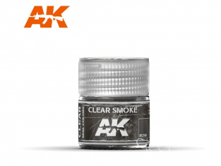 Ak interactive Real Colors RC508 Noir translucide - Smoke 10ml