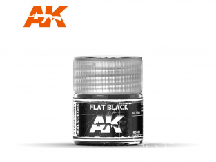 Ak interactive Real Colors RC001 Noir mat RAL9005 10ml