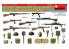 Mini Art maquette militaire 35268 INFANTERIE SOVIETIQUE ARMES ET EQUIPEMENTS AUTOMATIQUES WWII 1/35