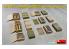Mini Art maquette militaire 35261 Boites de munitions sovietiques avec obus WWII 1/35