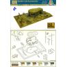 italeri maquette militaire 6070 bunker et acc 1/72