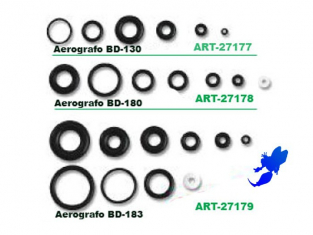 AEROGRAPHE 27177 Joints pour bd130 - 27085