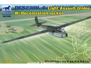 Bronco maquette planeur GB 7009 DFS 230V-6 LIGHT ASSAULT GLIDER avec Deceleration rocket 1942 1/72