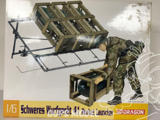 Dragon maquette militaire 75007 BOITE DEFRAICHIE SCHWERES WURFGERAT 41 1/6