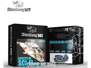 Abteilung 502 set de pigments abt404 Set effets Science-fiction