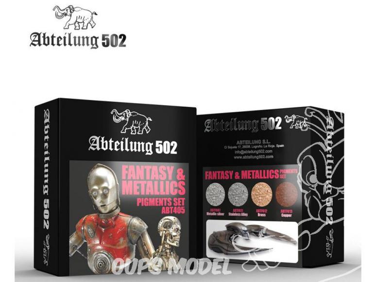 Abteilung 502 set de pigments abt405 Set Fantaisie et métallisé