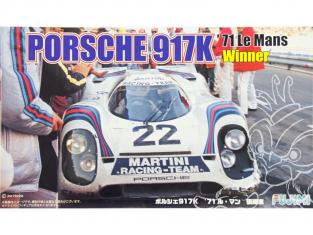 FUJIMI maquette voiture 126142 Porsche 917K Vainqueur Le Mans 1971 1/24
