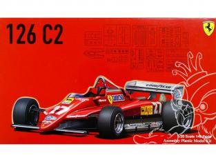 Fujimi maquette voiture 091945 Ferrari 126 C2 1/20