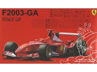 Fujimi maquette voiture 090863 Ferrari F2003-GA GP Italie 1/20