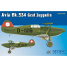EDUARD maquette avion 7445 Avia Bk.534 Graf Zeppelin WeekEnd Edition 1/72