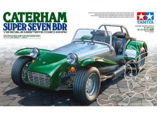 Tamiya maquette voiture 10204 Caterham Super Seven BDR 1/12