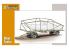 Special Armour maquette bateau 72018 Remorque pour sous marin Biber 1/72