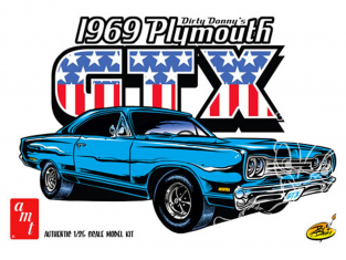 AMT maquette voiture 1065 Dirty Donny 1969 Plymouth GTX 1/25