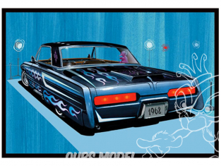 AMT maquette voiture 1078 Buick Electra 1962 1/25