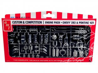 AMT maquette voiture PP011 GM Motors Parts de pieces 1/25