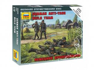 Zvezda maquette militaire 6216 Escouade Anti-char Allemande WWII 1/72