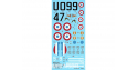 DECALQUES Curtiss H-75 Aces of CG 1/5 1/72 BERNA DECALS BD72-112
