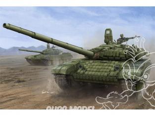 TRUMPETER maquette militaire 00925 CHAR RUSSE T-72B/B1 MBT (avec Blindage Réactif type KONTAKT-1) 1995 1/16