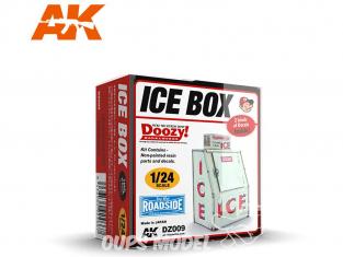 Ak Interactive Doozy DZ009 Distributeur de Glace 1/24