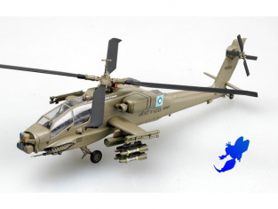 "Easy Model miniature helicoptere 37029 AH-64A ""APACHE"" 1/72"