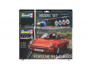 Revell maquette voiture 67179 Porsche 911 Turbo Model Set 1/24