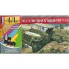 Heller maquette militaire 56997 WILLYS MB Jeep & Trailer Inclus peintures principale colle et pinceau 1/72