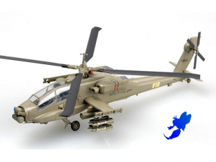 "Easy Model miniature helicoptere 37025 AH-64A ""APACHE"" 1/72"