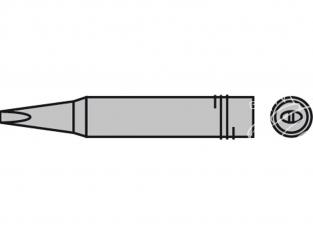 Star Tec 80156 Panne forme ciseau 2.2 pour station de soudure ST501 et ST802