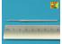 Aber 72L68 Fut de canon 128mm KwK 44 L/55 pour E-100 Allemand Super Lourd Trumpeter 1/72