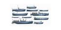 TAMIYA maquette bateau 78026 Bateaux Auxiliaires Japonais 1/350