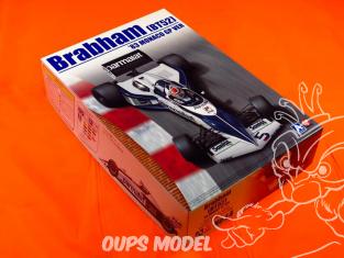 Beemax maquette de B20003 No14 Brabham (BT52) manoco GP 1983 1/20