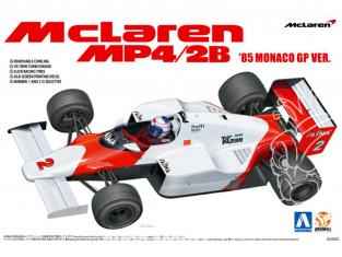 Beemax maquette de F1 B20002 McLaren MP4/2B Monaco 1985 1/20