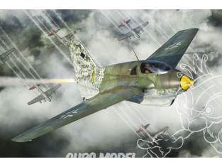 Brengun maquette avion BRP144004 Me-163B Komet (inclus 2 kits in box) 1/144