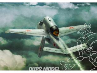 Brengun maquette avion BRP144006 He-162A prise de guerre 1/144