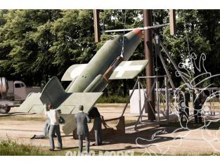 Brengun maquette avion BRP144002 Bachem Ba-349 M52/M58 (deux in box) 1/144