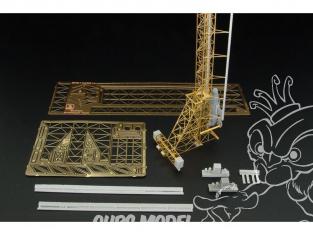 Brengun accessoire diorama avion BRS144031 Tour de lancement pour Bachem Natter 1/144