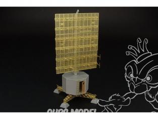 Brengun accessoire diorama avion BRS144002 radar station Allemande FREYA-LZ A (FuMG-401) 1/144