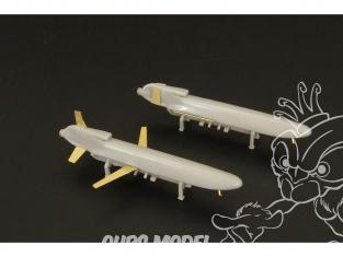 Brengun kit avion BRS144013 AGM-86 ALCM (deux pieces) 1/144