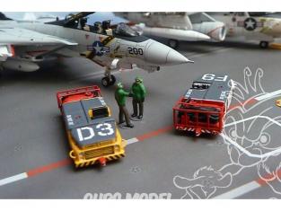 Brengun accessoire diorama avion BRS144029 Kit en résine du petit vehicule pompier de pont MD-3 USN 1/144