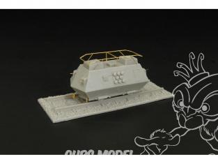 Brengun accessoire diorama militaire BRS144006 Draisine blindée Steyer K2670 en resine 1/144