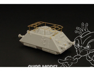 Brengun kit militaire train BRS144011 Draisine blindée Pz.Schw. Voiture radio lourde en resine 1/144