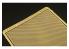 Brengun accessoire BRL48089 Grille ovale 1/48