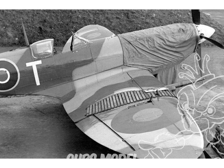 Brengun accessoire avion BRL48035 Marches pour avions anglais WWII 1/48