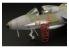 Brengun accessoire diorama avion BRL72017 Escabeaux pour Hunter et Harrier (2pcs) 1/72