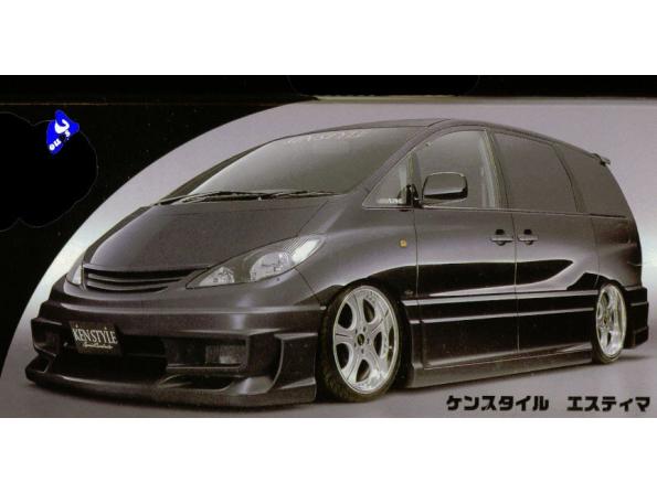 fujimi maquette voiture 18859 Estima kenstyle 1/24